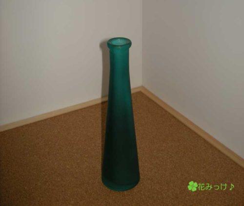 100均のガラスの花瓶