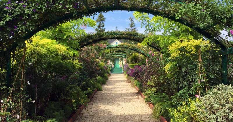 浜名湖ガーデンパーク、花の美術館のアーチ