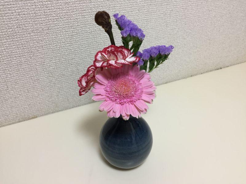 ブルーミーライフ:一週間経ってもキレイに咲いている