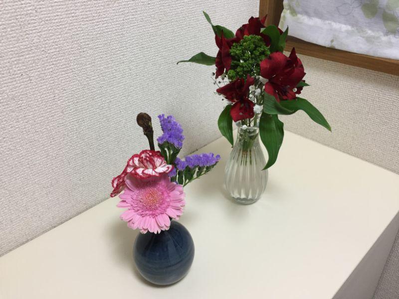ブルーミーライフ:2回分のお花
