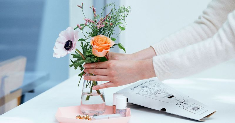 お花の癒やし効果