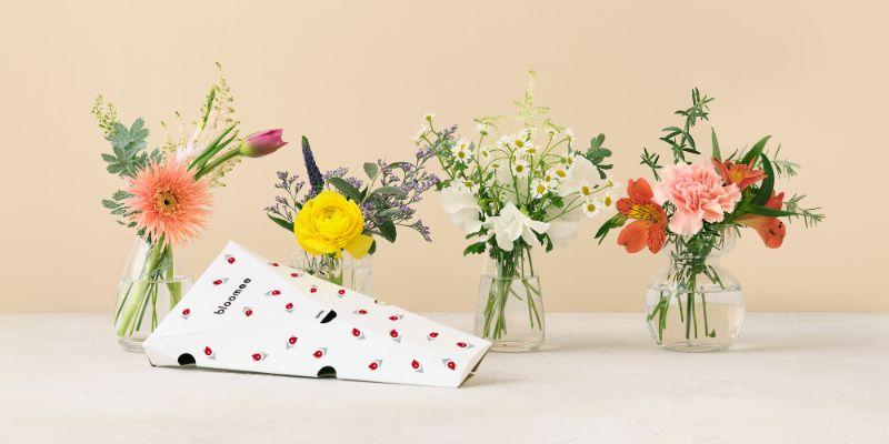 ポストに届くお花の定期便ブルーミーまとめ
