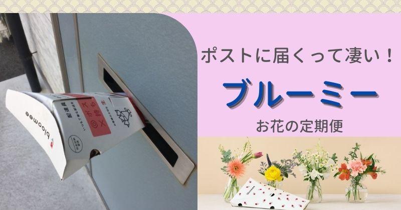 ポストに届く【花の定期便】ブルーミー:5回目のお花は春らしい色合いで癒やされてます♪