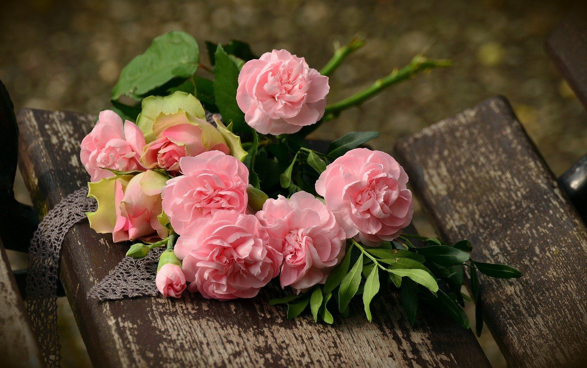 男性にプレゼントする花束