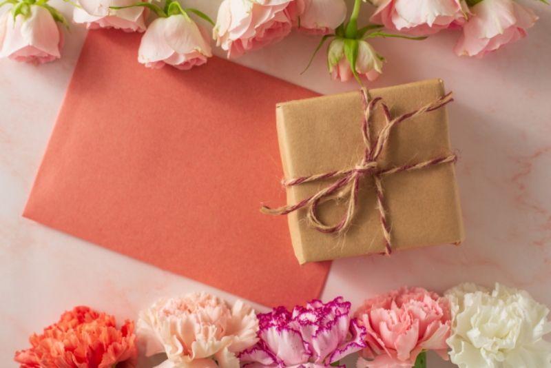 母の日のお花はお花は「おまかせ」で注文